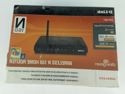 D-Link N150 Home 150 Mbps 4-Port 10/100 Wireless N Router