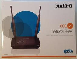 D-Link Wireless WiFi Broadband Router N300 Mbps Home Cloud E