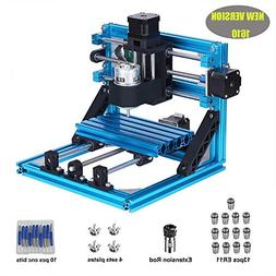 DIY CNC Router Kits 1610 GRBL Control 3 Axis Plastic Acrylic