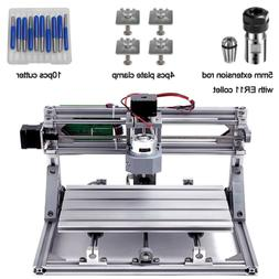 diy cnc router kits 3018 grbl control 3 axis plastic acrylic
