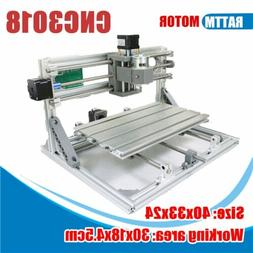 DIY Mini 3 Axis 3018 CNC Machine Pcb Milling Wood Router Eng
