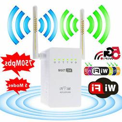 Dual Band 2.4/5GHz Wireless Repeater 802.11AC Router WiFi Ra