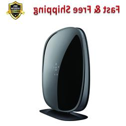 Dual Band AC Gigabit Router WiFi Black Electronics Computers