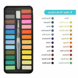 Professional 24 Colors Paint Tube Watercolor Draw Painting +