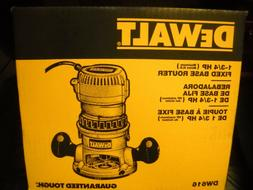Dewalt DW616 1-3/4 HP  Fixed Base Router - 24500RPM - 1.30 k