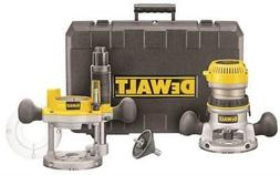DEWALT DW618PK 12-AMP 2-1/4 HP Plunge and Fixed-Base Variabl