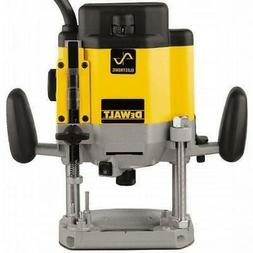 DEWALT DW625 Heavy-Duty 3 HP VS Electronic Plunge Router