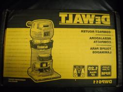 DeWALT DWP611 1.25HP Compact Premium VS Woodworking Router T