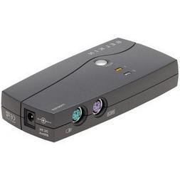 E-series 2-PORT KVM Swtch  PS/2 Only; with 2 F1D9001B06