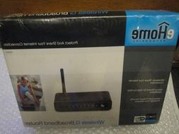 eHOME EH100 wireless G broadband router