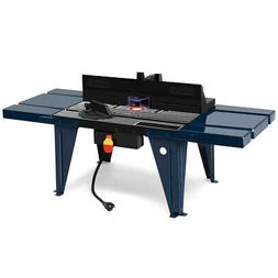 Electric Aluminum Router Table Routing Wood Working Tool Ben