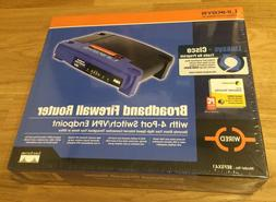 Linksys EtherFast BEFSX41-V2 4-Port 10/100 Wired Router