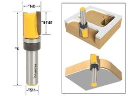 "3/4"" Diameter Flush Trim Template Router Bit - 1/2"" Shank -"
