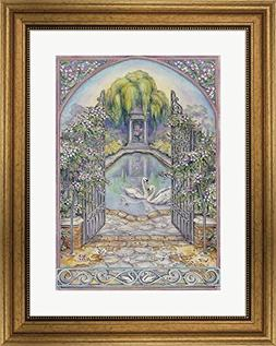 Gateway by Kim Jacobs Framed Art Print Wall Picture, Wide Go