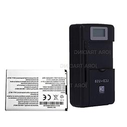 Generic Battery Li3717T42P3h654458 for ZTE Hotspot 890L Jetp