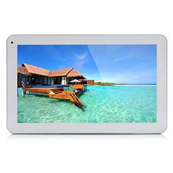 "10.1"" Google Android 6.0 Tablet, Quad Core 1.3Ghz, Dual Came"
