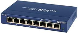 Netgear GS108-400NAS Prosafe 8-Port Gigabit Desktop Switch