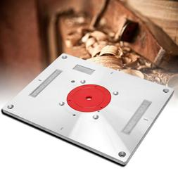 Height Adjustable Planer Router Table Inserting Plate Trimme