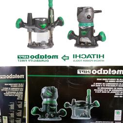 🆕🔥 METABO HPT KM12VC 2.25 HP Fixed/Plunge Base Router