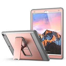 iPad Pro 10.5 Case, YOUMAKER Heavy Duty Kickstand Shockproof