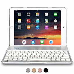 COOPER NOTEKEE F8S keyboard case compatible with iPad 6, iPa