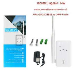 IPC Router/Repeater Extend WiFi Range for Wireless Security