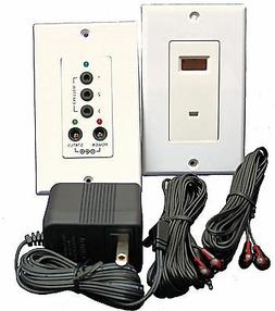 IR Repeater System  In Wall Kit Controls 4 devices Professio