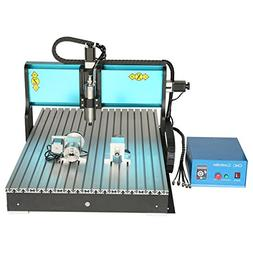 JFT 6090 2.2kw+ 4 Axis + Mach 3+usb Port CNC Router /Engravi