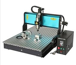 JFT 6090 CNC Wood Router 4 Axis +1.5kw +Usb Port+mach 3 +Ind
