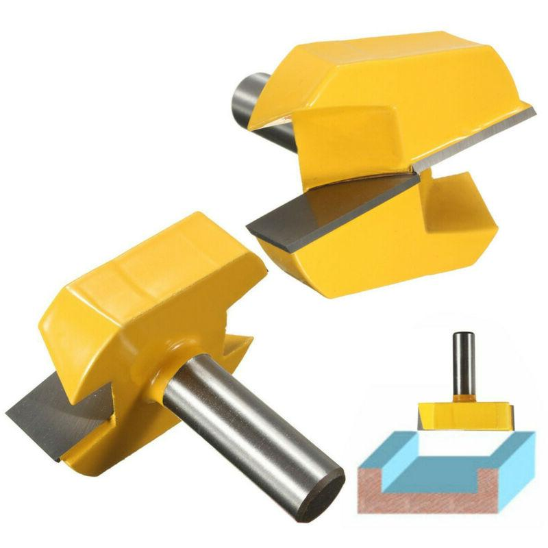 1/2inch Shank Dia Bottom Cleaning Router Bit Woodworking Mil