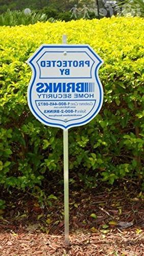 1 authentic home yard sign