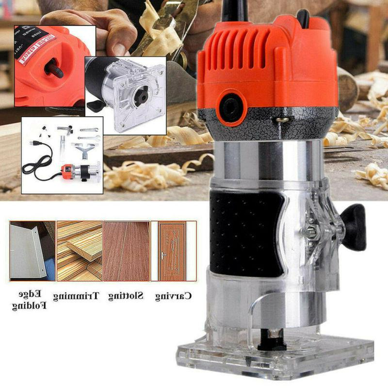 110V 800W 1/4'' Hand Wood Router Joiners Tool