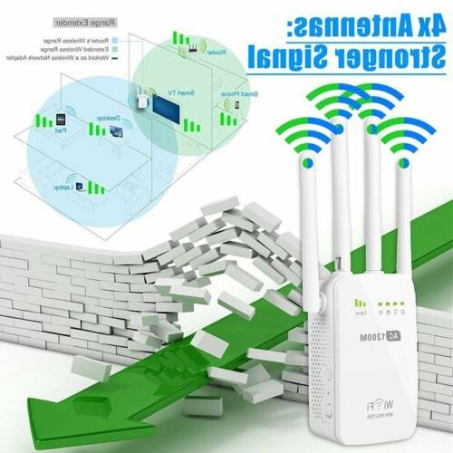 1200Mbps 5G Dual Band Wireless Range Repeater Antenna US