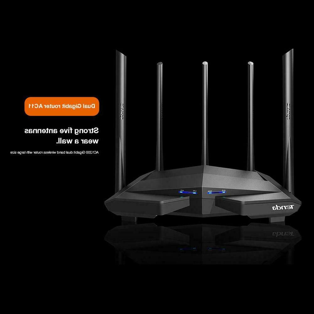 Tenda 2.4GHz/5GHz Dual Band Wireless Repeater