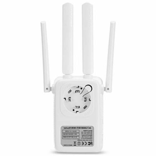 1200Mbps 5G Dual Band Wireless Range Repeater Router 4 US