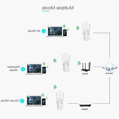 1200Mbps Band Wireless Extender WiFi Router