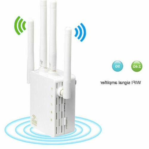 AC1200 WIFI Repeater 2.4G 5G  Dual Band1200mbps Router & Wir