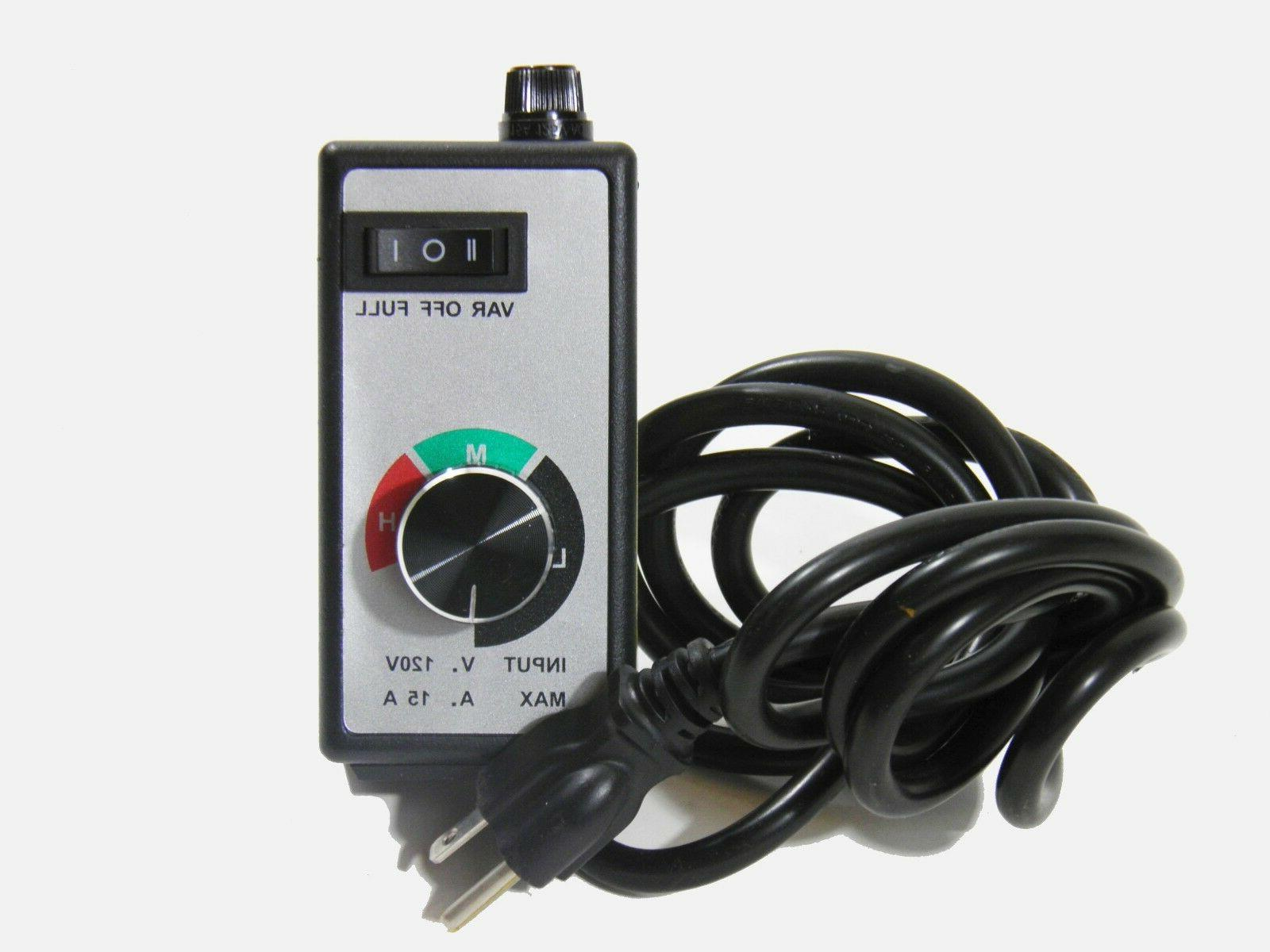 120v 15 amp universal variable voltage router