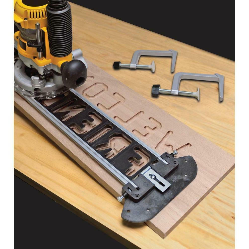 Milescraft 1212 Sign Pro Router Signmaking Jig