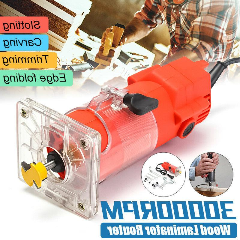 220v 300w 30000rpm trim router edge wood