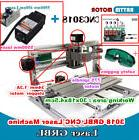 3 Axis 3018 DIY Mini CNC Router Kit Engraving Milling Wood M