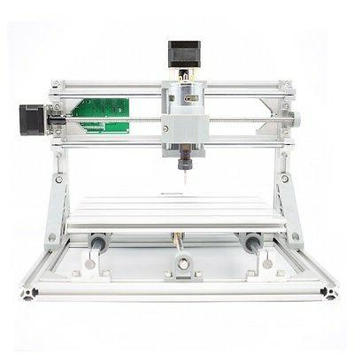 3 Axis DIY CNC Router Kit Wood Engraving Milling Machine + 2