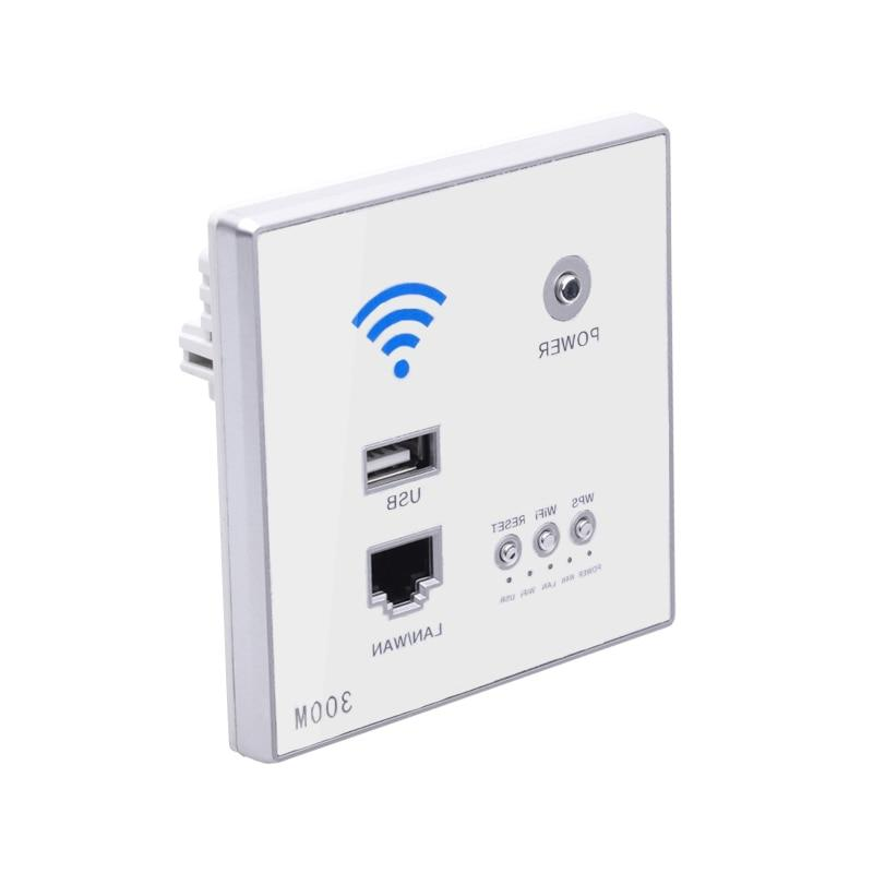 300mbps wall font b router b font