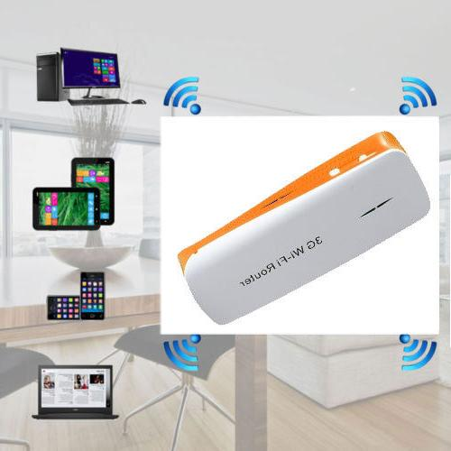 3g wi fi wireless router 1800mah mobile