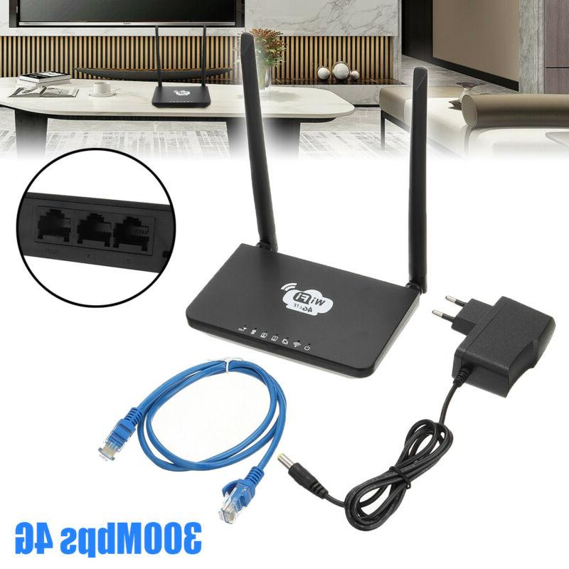 300Mbps 4G-LTE Wireless Router CPE Double Antenna WiFi Hotsp