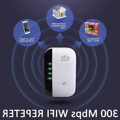300Mbps Wireless-N 802.11 Signal Booster Range