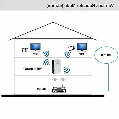 300Mbps Wifi Repeater Wireless-N 802.11 Router Extender Signal