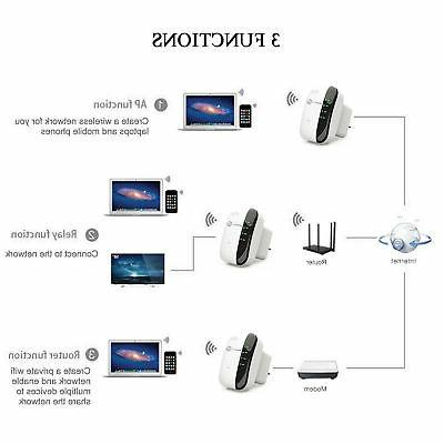 300Mbps Repeater 802.11 Router Signal Booster