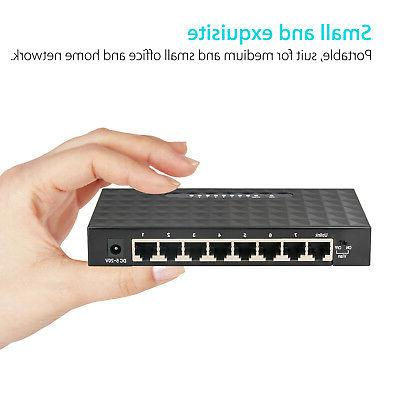 8Port Gigabit Ethernet Switch