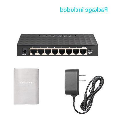 8Port Switch Hub for Router &
